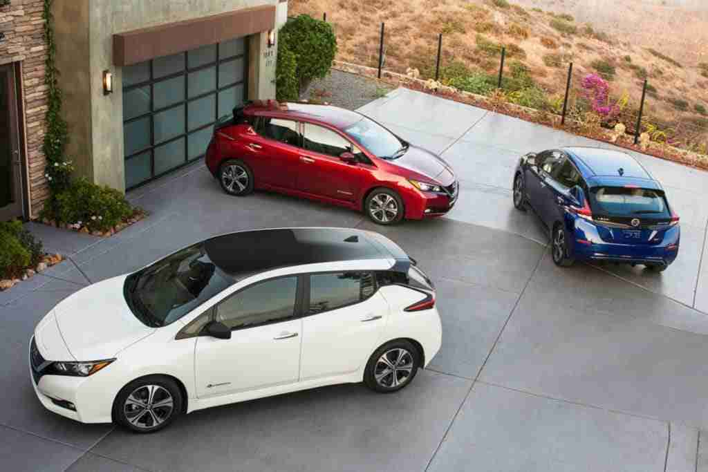 2018 nissan leaf trim levels