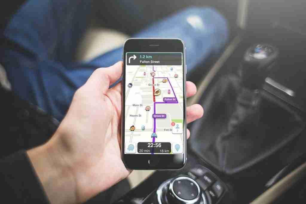 waze transportation app