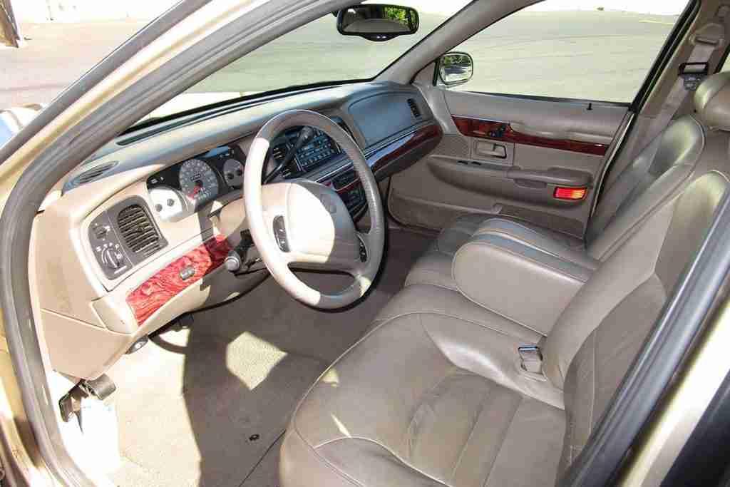 2000 mercury grand marquis ls interior