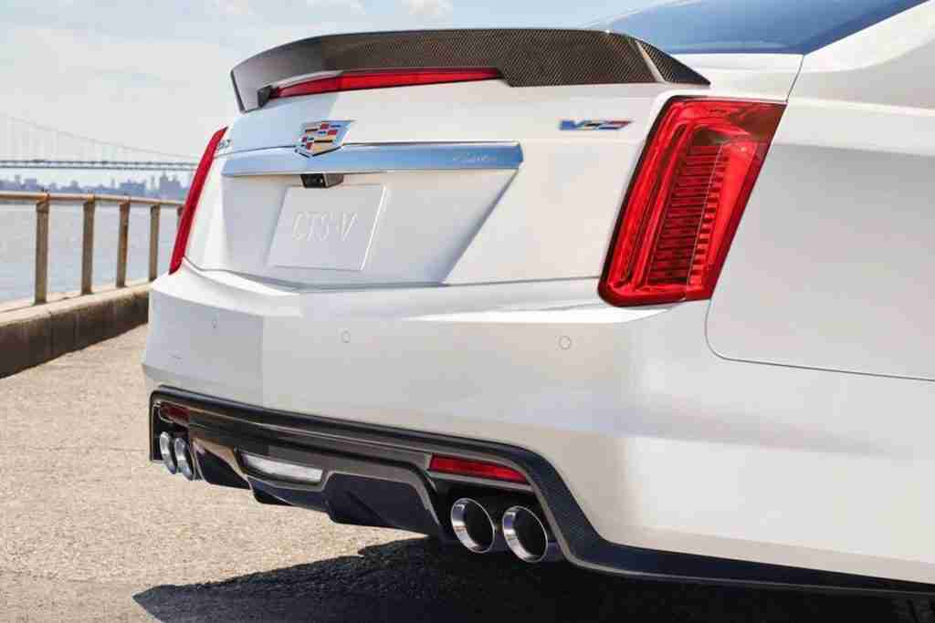 2019 cadillac cts-v exterior features