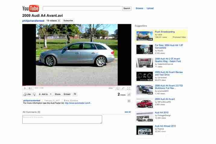 sell a used car faster with video