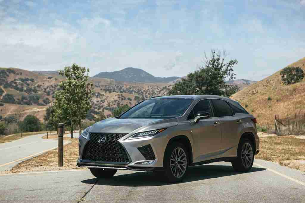 2020 lexus rx safety features