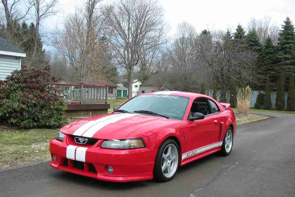 second generation roush mustang