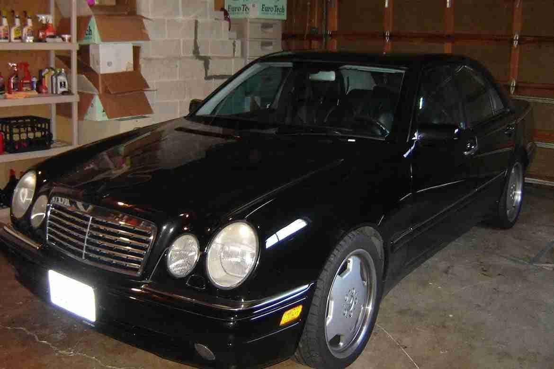 1999 w210 mercedes e55 amg