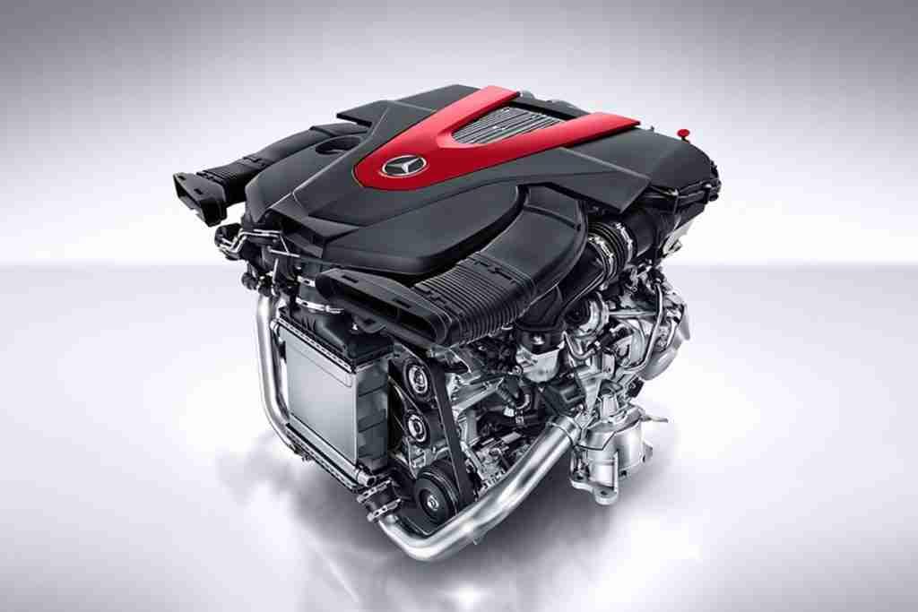 amg-enhanced 3.0l v6 biturbo engine
