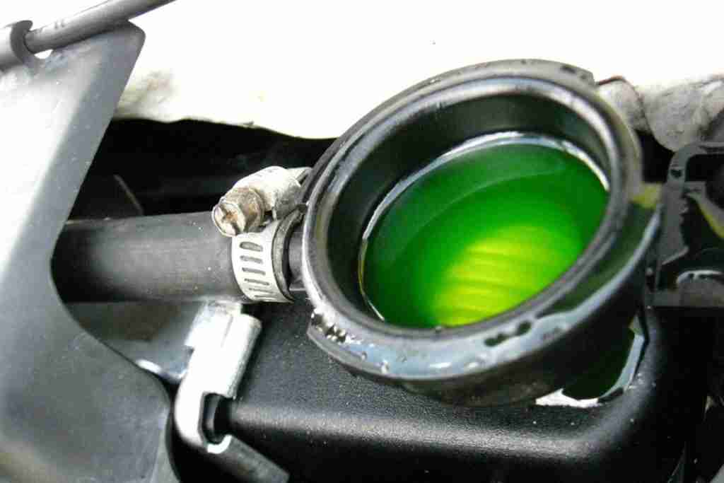 check engine coolant