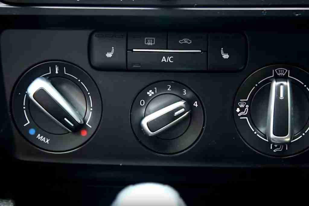 turn on car heater
