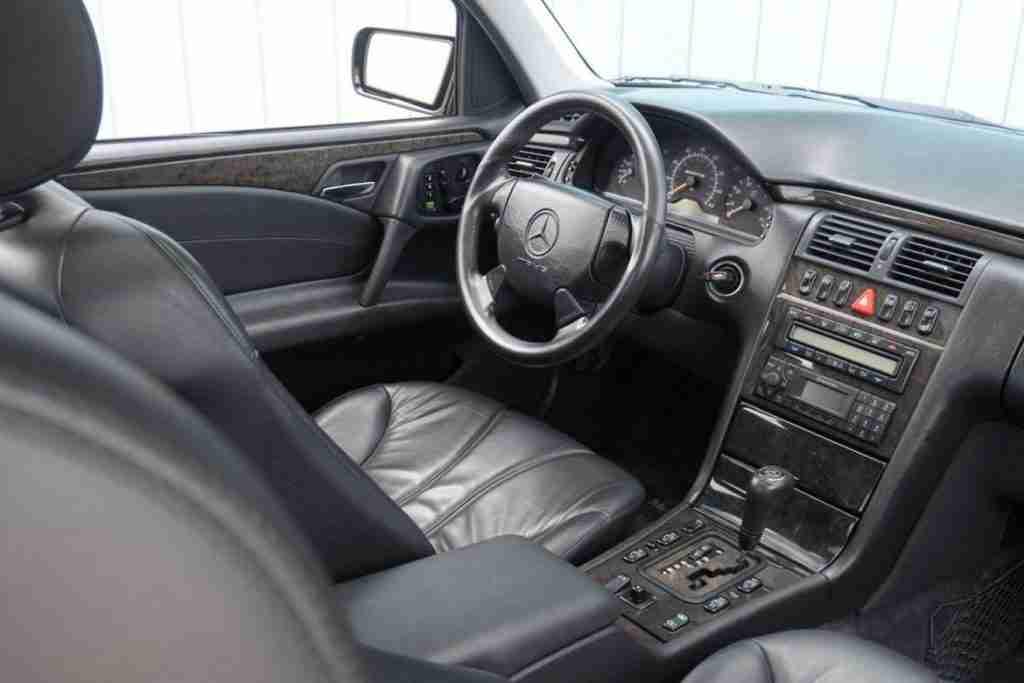w210 mercedes e55 interior