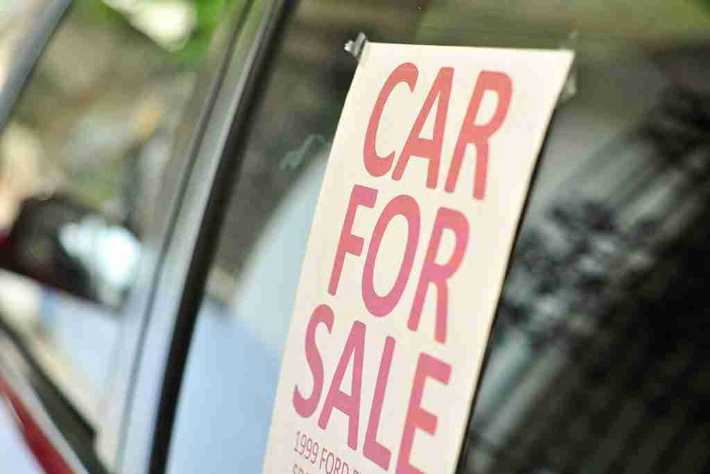 advertise used car for sale