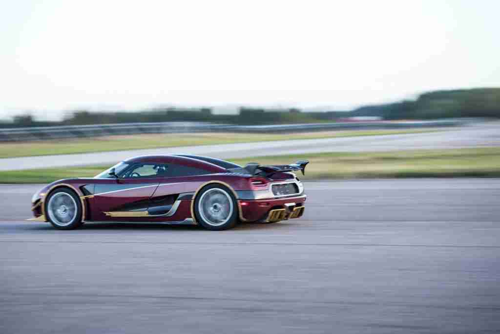 koenigsegg agera rs performance
