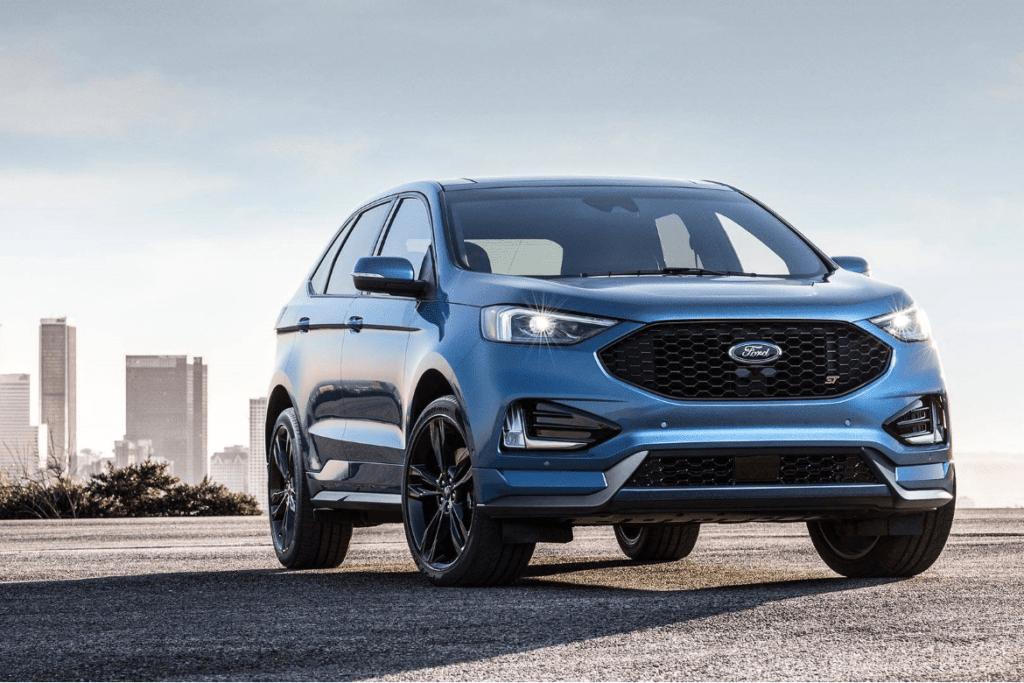 2019 ford edge st design