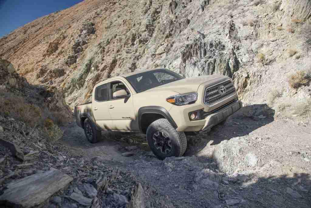 2019 toyota tacoma trd off-road capabilities