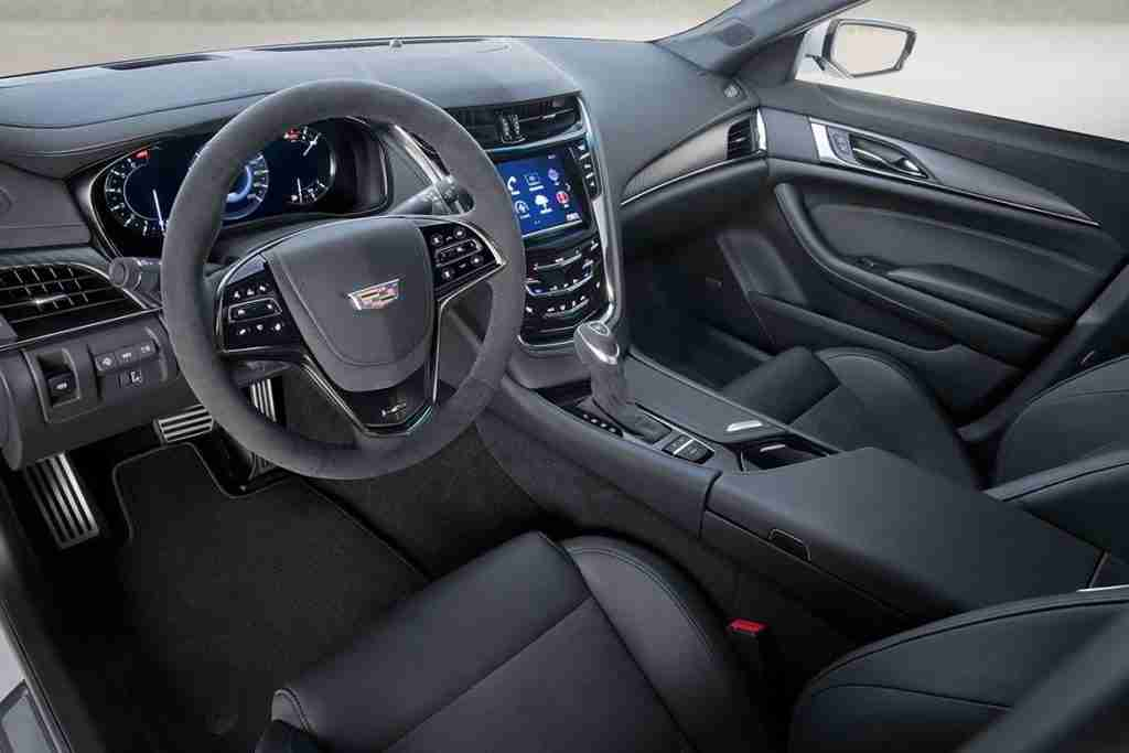 2019 cadillac cts-v interior features