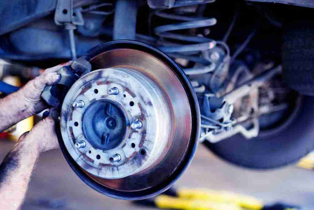 replace work brake components