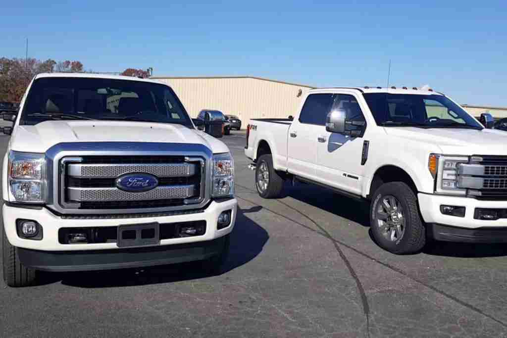 F-250 and F-350 differences