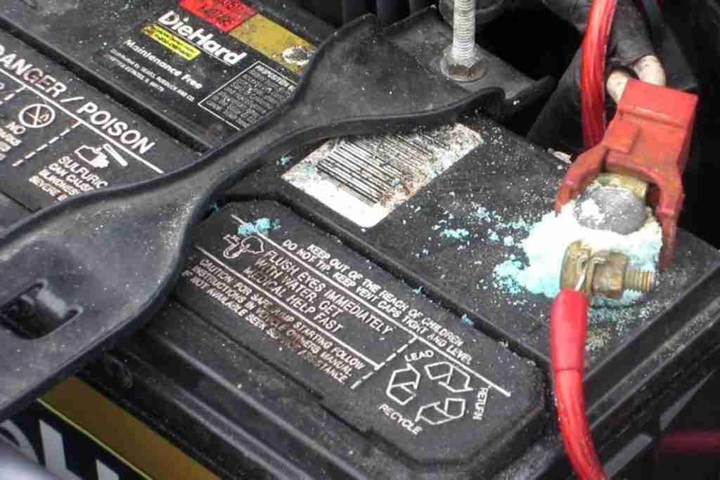inspect and clean car battery