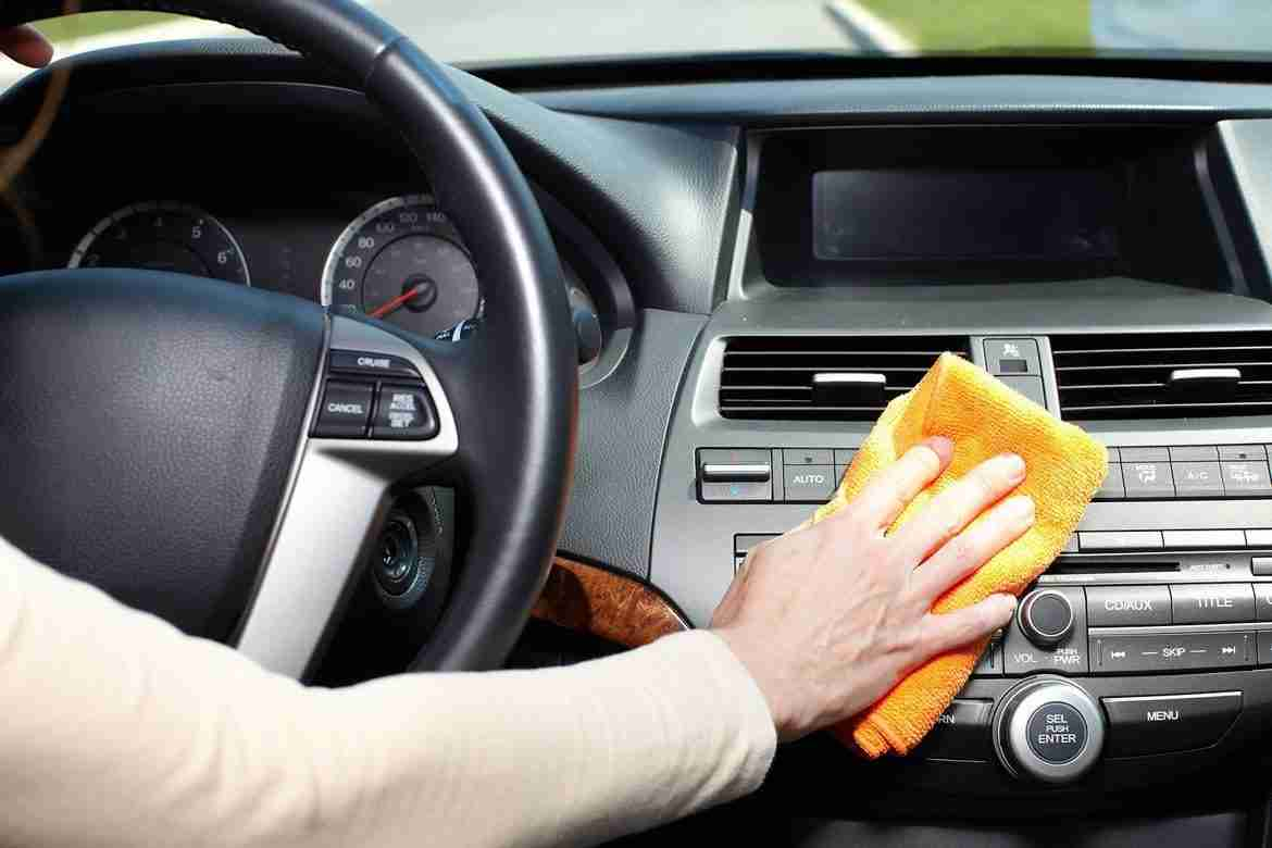 cleaning your car interior