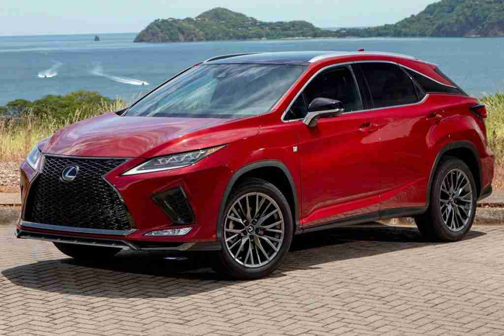 2020 lexus rx performance