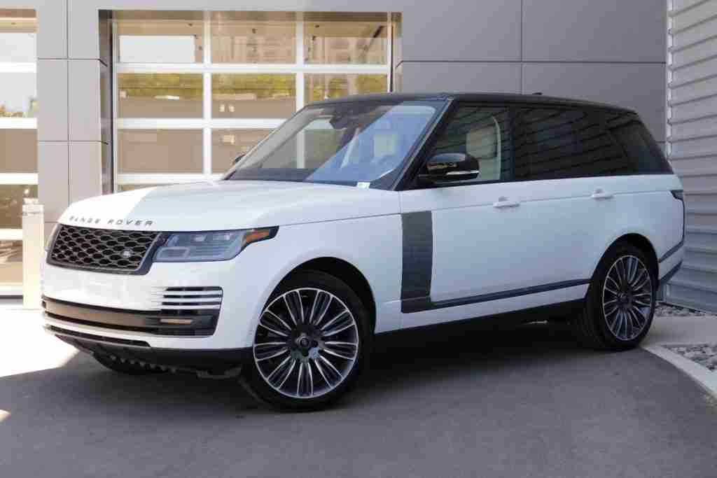 2020 land rover range rover configurations