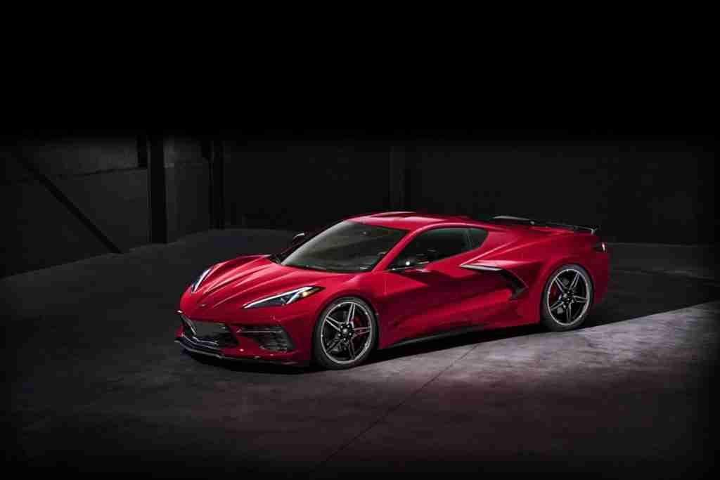2020 corvette stingray design