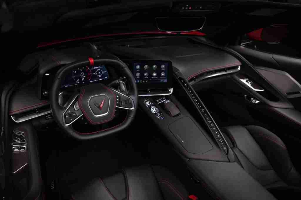 2020 corvette stingray interior