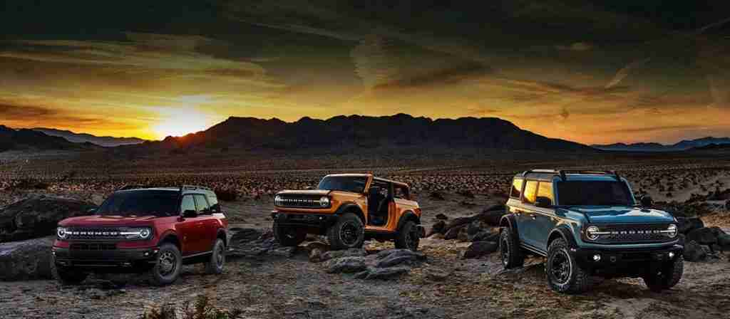 2021 ford bronco configurations