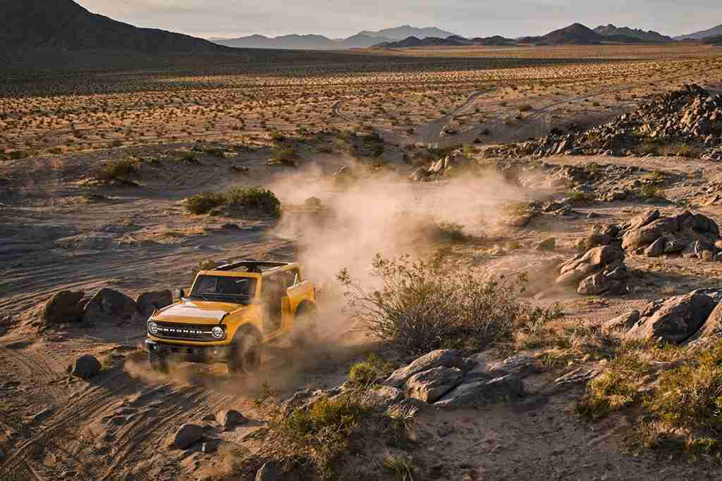 2021 ford bronco performance features