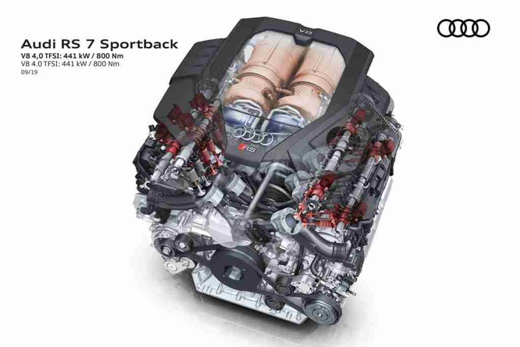 2021 audi rs7 engine
